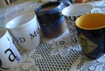 My favourite tea mugs